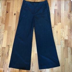 GAP wide leg dark grey pants, size 10